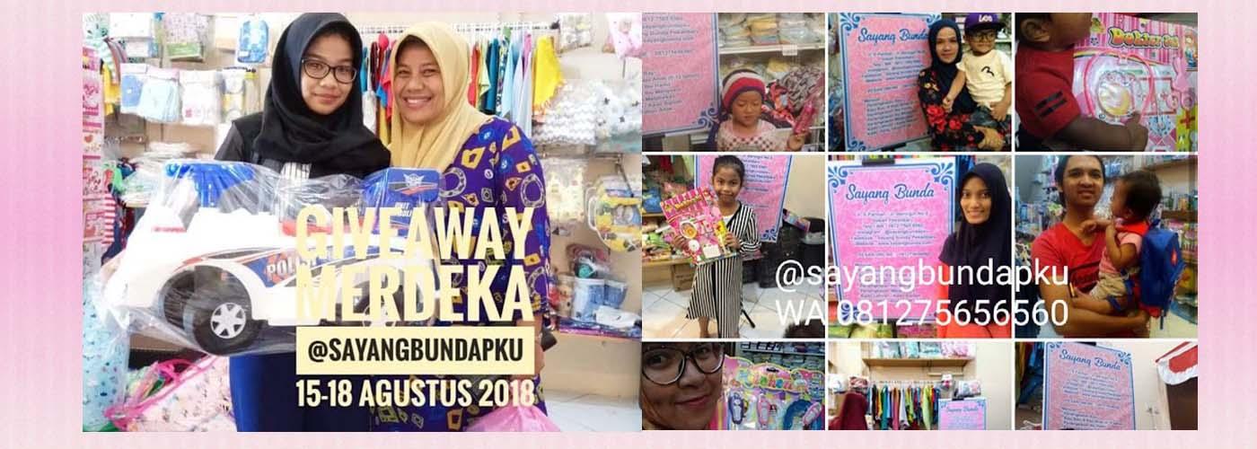 Pemenang Giveaway dan promo dari sayang bunda pekanbaru